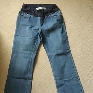 Maternity jeans boot cut